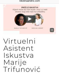 Virtuelni asistent, priče iz iskustva