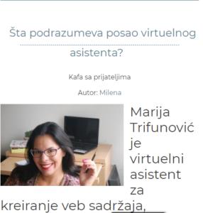 Šta podrazumeva posao virtuelnog asistenta?
