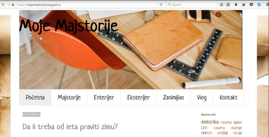 Sajt ili Blog
